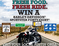 Austin Grill Harley-Davidson Sweepstakes