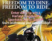 American Tap Room Harley-Davidson Sweepstakes
