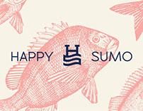 Happy Sumo Sushi - Rebrand