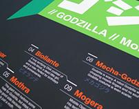 Top 11 Godzilla Monsters Poster