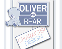 Oliver the Bear Character Design