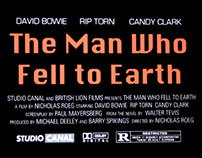 The Man Who Fell to Earth DVD Cover
