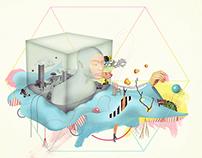Telenor KONTAKT   Illustrations