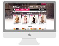Moda: e-shop interface design