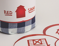 (The) Red Sauna – Brand and Packaging