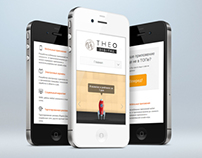 Theo | mobile website