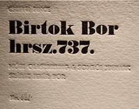 Hrsz. 737. Wine Label