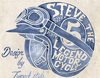 STEVE DESERT RACE 1963 by TWEED style