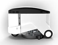 SPAZIO |  Multifunctional Sweeping-Washing Robot