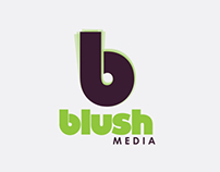 Blush media branding layout  proposal