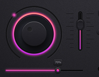 Music Player UI/UX design
