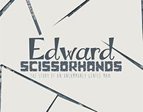 Cartaz Cinematográfico - Edward Scissorhands.