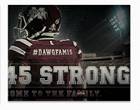 Mississippi State Football Signing Day Graphic