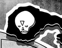 Ghostly print