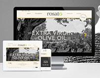 Rosato · Responsive Website