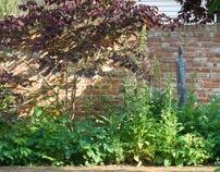 Country garden, Goudhurst, Kent