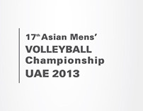 asian volleyball 2013 UAE - LOGO