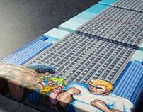 Street Fighter II triptych