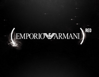 Creative proposal for Emporio Armani (Product)red