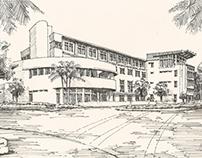 University of Miami Alumni Center Rendering