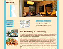 Thai Restaurant Website