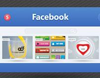 UI Design for Facebook