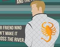 Drive Digital Art Typography Poster