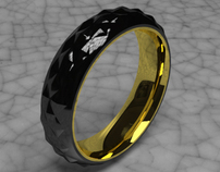 """The Two Tone"" Ring"