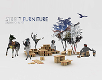 sort of their chair | Street furniture