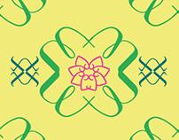 Lottus Flower Pattern