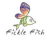 Fickle Fish Logo Animation
