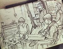 Sketchbook - Lifedrawing