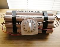 Explosive prop - 2012