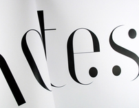 Notes Typeface