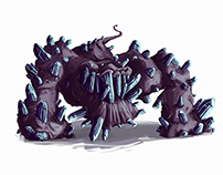 Mineral monsters