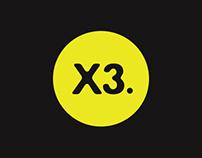 X3 Rebranding