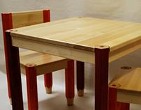 Lasten tuolit ja pöydät (children's chairs and tables)