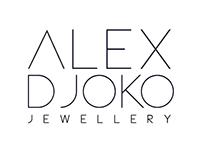 Brand identity for Alex Djoko (Jewellery designer)
