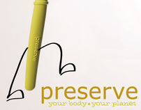 Preserve Toothbrush Ad Campaign