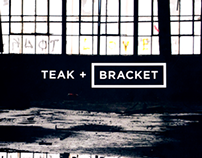 Teak + Bracket