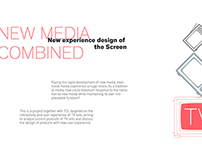 New experience Design of the Screen