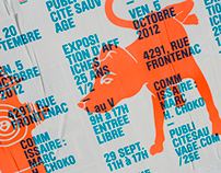 Publicité Sauvage / 25th anniversary posters