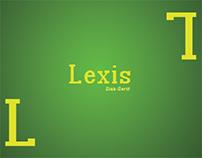 Lexis Typeface