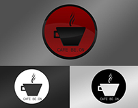 """LOGO POUR """"CAFE BE.ON""""."""
