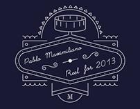 Pablo Maximiliano · Reel for 2013