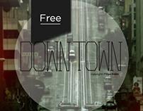 Downtown free font
