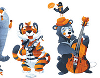 Charlie Bear's Band