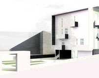 Simplify, then add Lightness. Social housing, Itri (I)