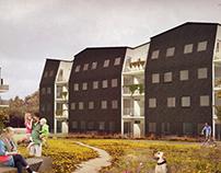 Multi-storey housing in Horsens