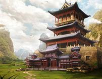 Landscape Matte Paintings